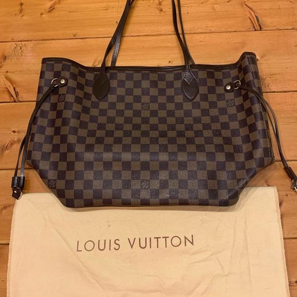 a6425cf8f8967 Louis Vuitton Bags | Tote Mm Neverfull W Dust Bag | Poshmark